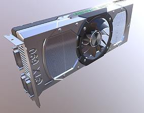 3D model Nvidia Geforce GTX 690