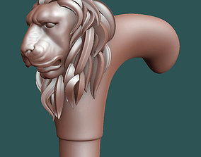 Handle walking cane 3D print model