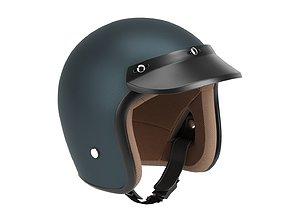 helmet retro 3D