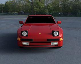 Porsche 944 new HDRI 3D