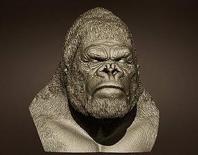 King kong bust kingkong 3D print model