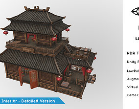 Fantasy Medieval Oriental Chinese Environment 3D model 3