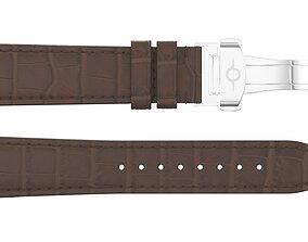 3D asset Strap watch Reptile brown PBR