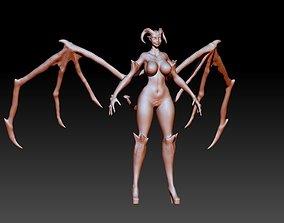 woman Succubus 3D model