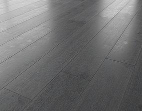 3D model Wood floor Oak Carbon Brushed