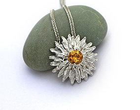 Flower pendant 3D model for downloading
