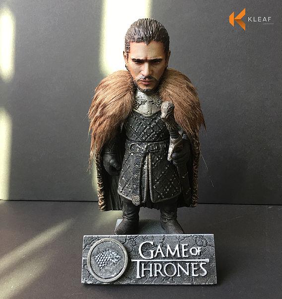 3D printable Model - Jon Snow
