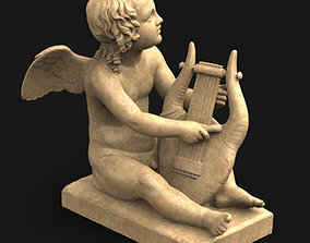 Angel Cupid 3D Model