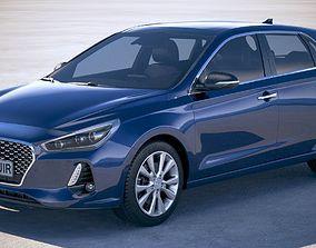 Hyundai i30 2018 3D