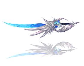 3D asset Legendary Sword