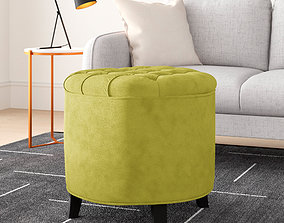 Wayfair Dalton Storage Ottoman 3D
