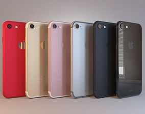 Apple iPhone 7 on All Color 3D