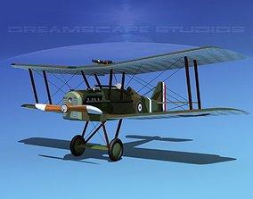 RAF SE5A Fighter V06 3D model