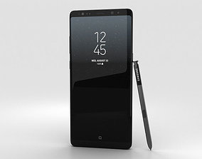 3D Samsung Galaxy Note 8 Midnight Black