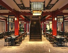 Indochina Style Restaurent 3D
