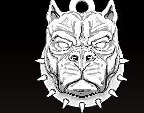 pitbull pendant 3D print model