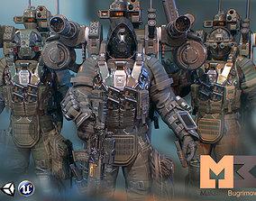 3D model Elite Soldiers Pack