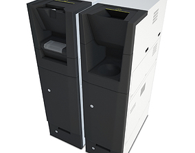 Compact Cash Recycling Machine 3D