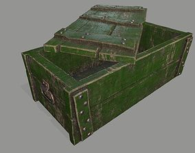 old chest 3D asset