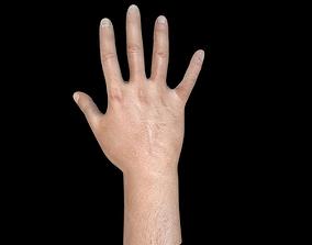 Man Hand 3D asset