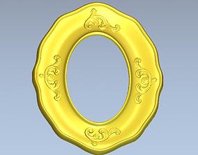 3D printable model Oval frame