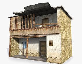 3D asset Slum b