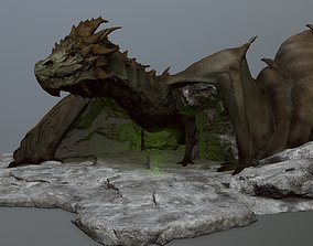 3D model animals other dragon