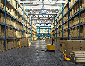 Warehouse 007 3D model