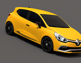 Renault Clio RS 2015 3D model