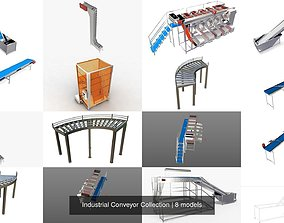 3D model Industrial Conveyor Collection