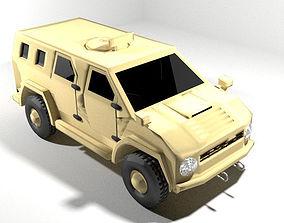Armoured Car - AMZ Wildboar 3D model