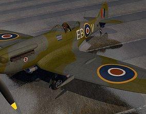 Supermarine Spitfire F Mk-14 - Mk-XIV 3D