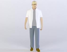 realtime MEN 26 3D MODEL