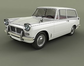 Triumph Herald 1200 Estate 3D