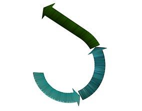 Arrows recycling 17 3D