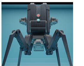 3D asset Concept bot