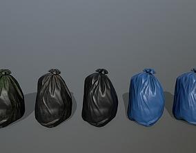 litter bag 3D model