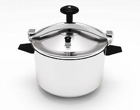 pressure cooker 3D model