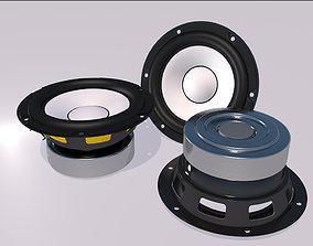3D model Speaker - Yamaha HS5-HS7-HS8