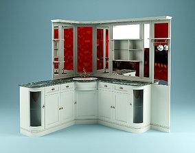 Corner Washstand 3D model