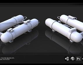 3D asset Jet Tube