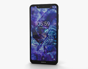 3D Nokia 5-1 Plus Night Black