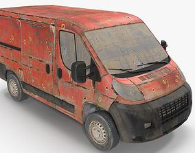 3D model Rusty Van 02