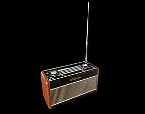 3D vintage Vintage Radio