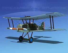 3D model RAF SE-5A Fighter V11