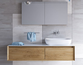 3D Furniture for washbasin SHAPE EVO