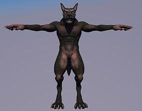 Lycanthrope werewolf 3D