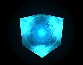 3D model Tesseract