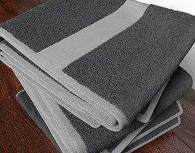 Towel household 3D