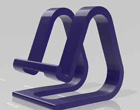 3D print model Universal phone stand - holder
